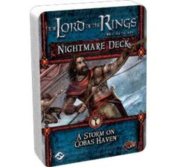 The Lord of the Rings: A Storm on Cobas Haven Nightmare Deck