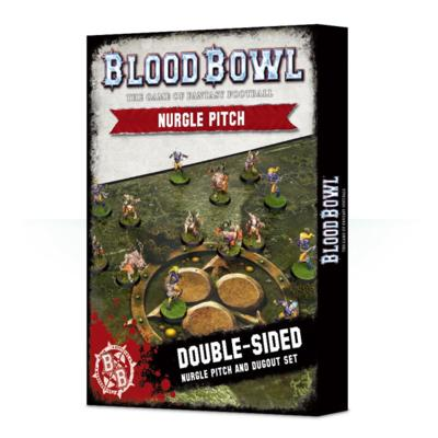 Blood Bowl: Nurgle Pitch and Dugouts