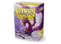 Dragon Shield Clear Purple Matte