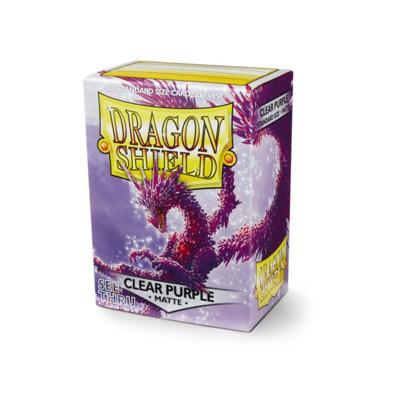 Dragon Shield Clear Purple Matte