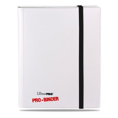 Pro Binder White 2-Pocket Portfolio