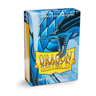Dragon Shield Matte Sky Blue Small
