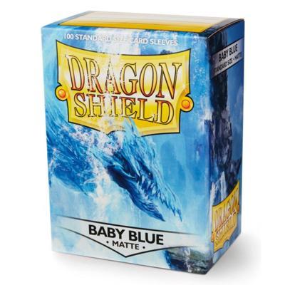 Dragon Shield Matte Baby Blue