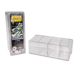 Dragon Shield Clear 4-Compartment Box