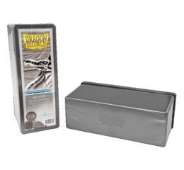 Dragon Shield Silver 4-Compartment Box