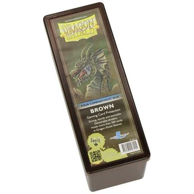 Dragon Shield Brown 4-Compartment Box