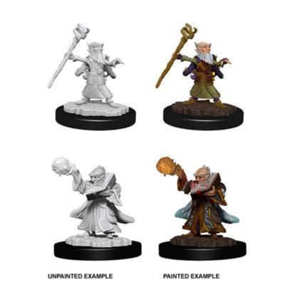Male Gnome Wizard Nolzur's Marvelous Miniatures