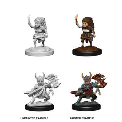 Female Halfling Fighter Nolzur's Marvelous Miniatures