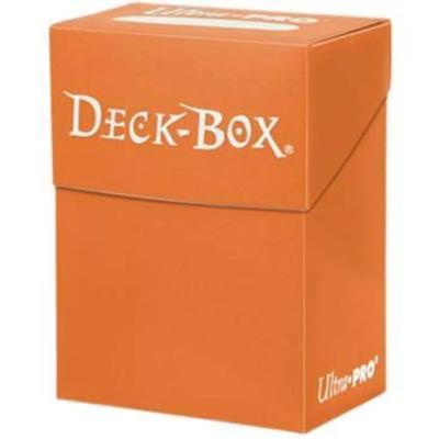 Orange Solid Deck Box
