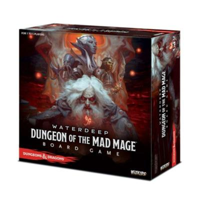 Waterdeep: Dungeon of the Mad Mage Adventure System Board Game