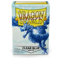 Dragon Shield Clear Blue Matte