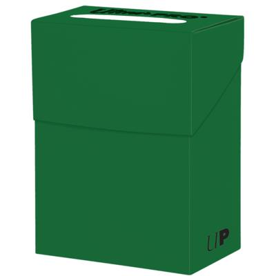 Solid Lime Green Deck Box