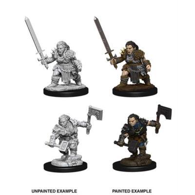 Pathfinder: Female Dwarf Barbarian
