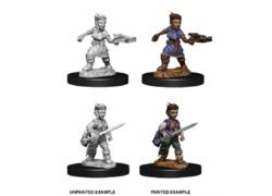 Pathfinder: Female Halfling Rogue Miniatures