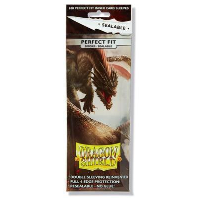 Dragon Shield Sealable Smoke Perfect Fit