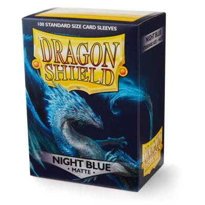 Dragon Shield Night Blue Matte