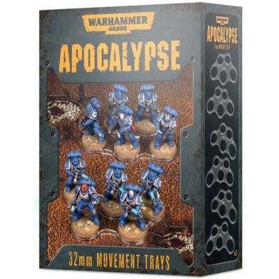 Warhammer 40000:Apocalypse Movement Trays (32mm)