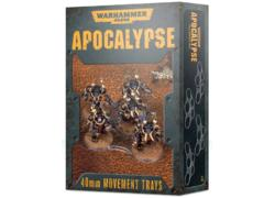 Warhammer 40000: Apocalypse Movement Trays (40mm)