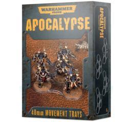 Warhammer 40000: Apocalypse Movement Trays (40mm)