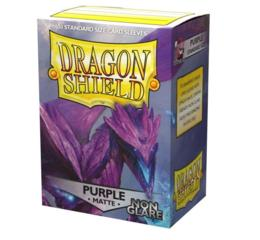 Dragon Shield Non-Glare Matte Purple Sleeves
