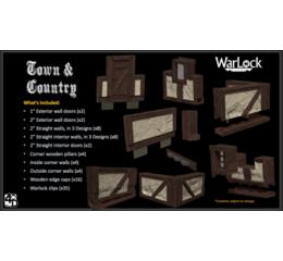 Warlock Tiles : Town & Country