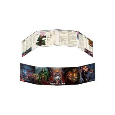 DD5: Dungeon Of The Mage Dm Screen