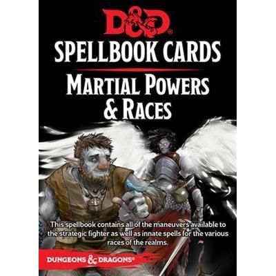 DD5: Spellbook Martial Deck