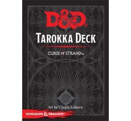 DD5:SpellBook Curse Of Strahd Tarokka Deck