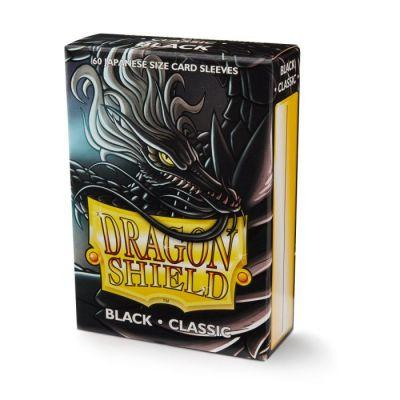 Dragon Shield Small Size Black Sleeves 60-Ct
