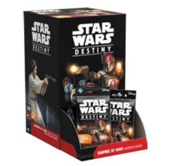Star Wars Destiny:Empire at War Booster Display