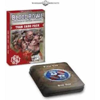 Blood Bowl: Ogre Team Card Pack (Eng)