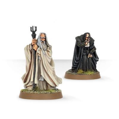 Saruman The White & Grima