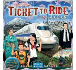 Ticket to Ride Japan & Italy Map Collection