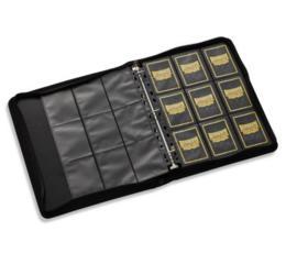 Black Portfolio Zipster Binder