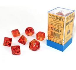 Gemini Red-Yellow/gold 7-Die Set