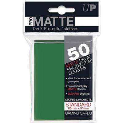 Pro-Matte Green Deck Protectors