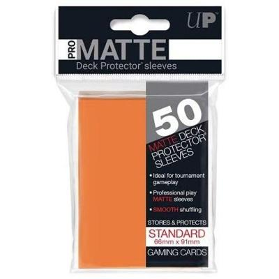 Pro Matte Orange Deck Protectors