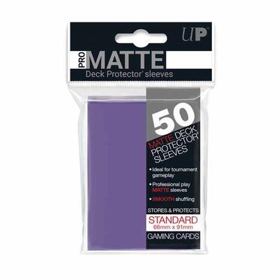 Pro Matte Purple Deck Protectors