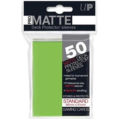 Pro Matte Lime Green Deck Protectors