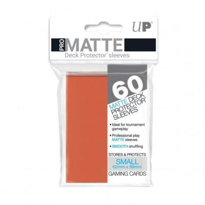 Orange Pro Matte Small Deck Protectors