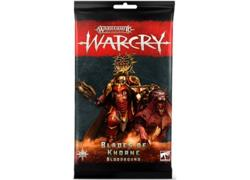 Warcry: Blades Of Khorne Bloodbound Cards