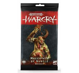 Warcry: Maggotkin of Nurgle Daemons Cards
