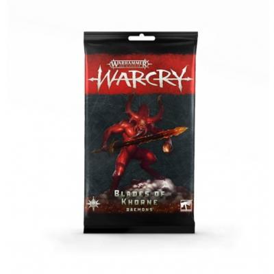 Warcry: Blades of Khorne Daemons Cards