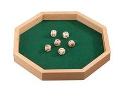 Dice Tray, Octagon