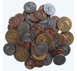 Metal Lira Coins