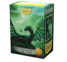 DS Classic Matte Art Rayaldar Sleeves 100ct