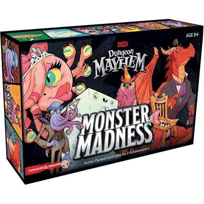 D&D Dungeon Mayhem Monster Madness