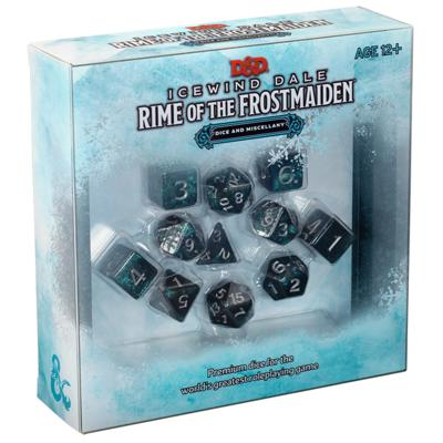 DD5 Icewind Dale: Rime of the Frostmaiden Dice Set