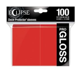 Eclipse Gloss Apple Red Deck Protector 100ct