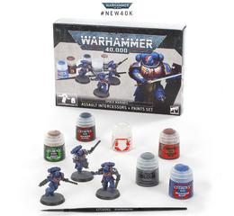 S/M Assault Intercessors Paint Set